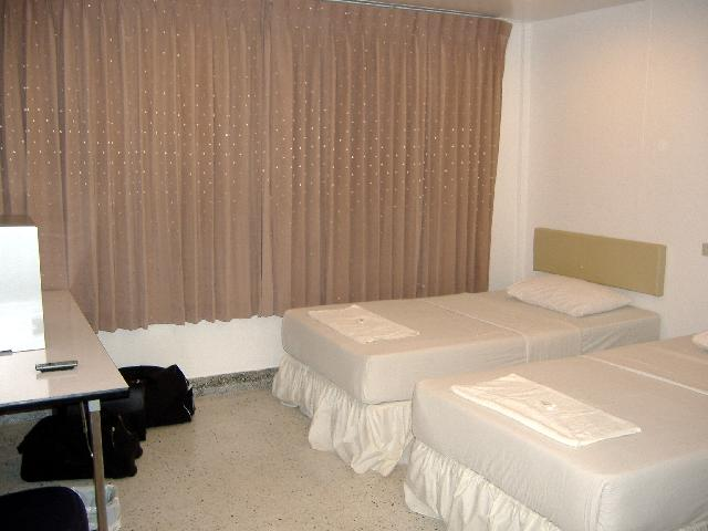 New bed rooms at the S.A. Hotel in Trat, Thailand
